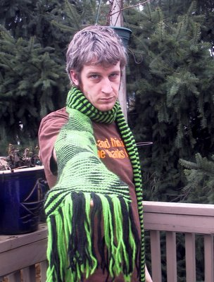 Alien Illusion Scarf
